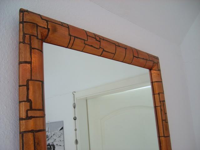 Couchtisch – Spiegel in Mosaik-Optik