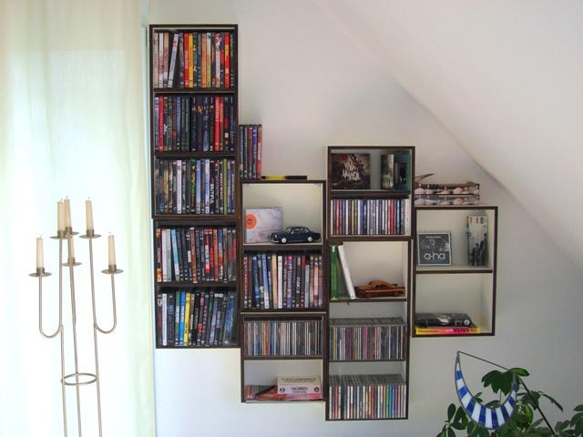 Regal – Fachböden und Schublade