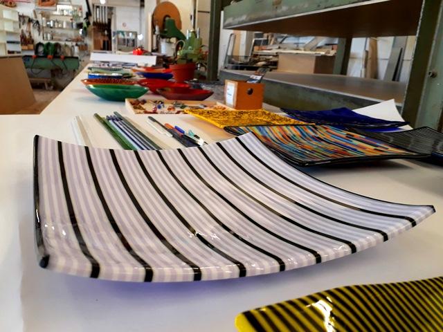 Glaskunst – handgefertigte Glasschale